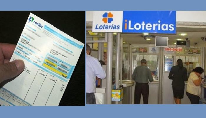 Resultado de imagem para casas lotericas pagamento de contas de luz da coelba