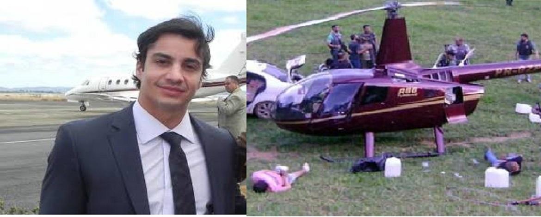 Resultado de imagem para Dono de helicóptero apreendido com cocaína vira diretor da CBF