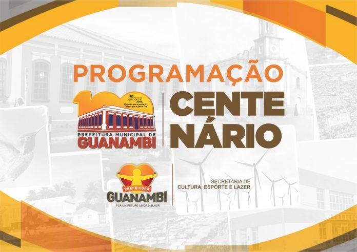 Programação do Centenário de Guanambi