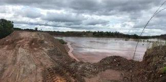 Barragem Mato Grosso mineração