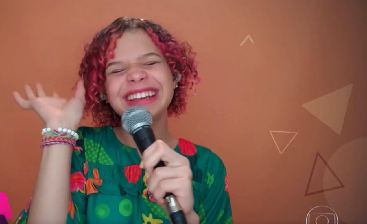 Representante De Vitoria Da Conquista Analu Sampaio Avanca No The Voice Kids Agencia Sertao