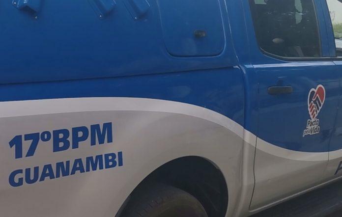 Viatura polícia militar 17 batalhão guanambi