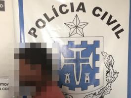 Polícia prende jovem acusado de estuprar irmãs de 3 e 7 anos em Matina